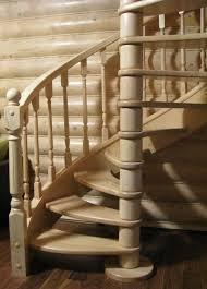 Деревянная лестница и ее защита