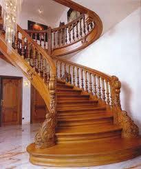Разновидности деревянных лестниц для дома