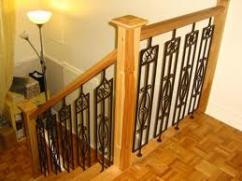 Деревянная лестница – искусство создания интерьера