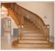 Современные лестницы из дерева