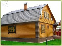 Блок хаус для стен