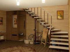 Лестницы, как украшение интерьера дома