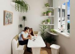 Основные вопросы присоединения балкона к однокомнатным квартирам