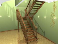 Варианты оформления лестничной площадки